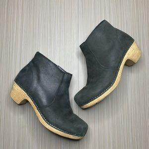 Dansko Black Maria Ankle Booties